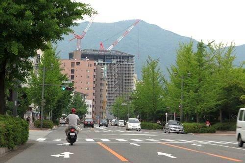 呉市役所の新庁舎