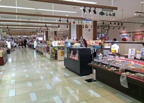 広島新幹線名店街 1Fリニューアルの様子