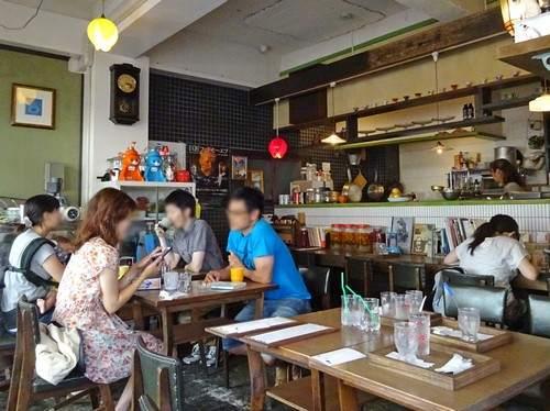 広島 小春カフェの店内の様子