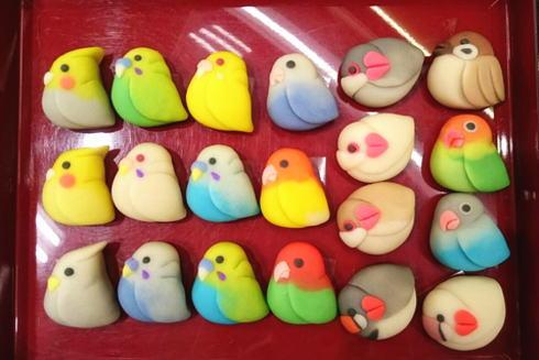 天光堂 鳥の和菓子たち