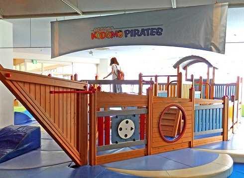 キッズUSランド、広島に子供の巨大屋内遊具施設