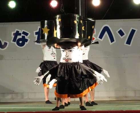豊栄へそ祭り、へそ踊りの様子3