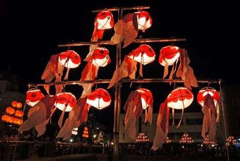 金魚ちょうちん祭り 画像1