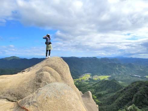 三倉岳で登山
