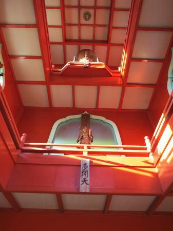 毘沙門堂 多宝塔の中の写真