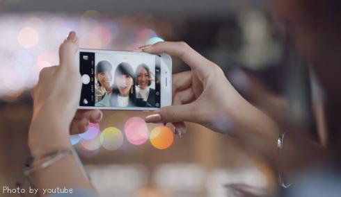 iPhone6s CM動画キャプチャ
