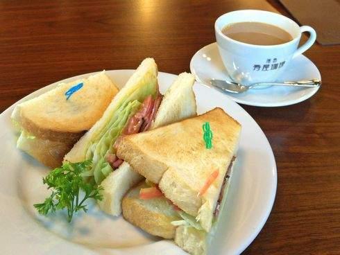 寿屋珈琲 宮内店 BLTトーストサンド