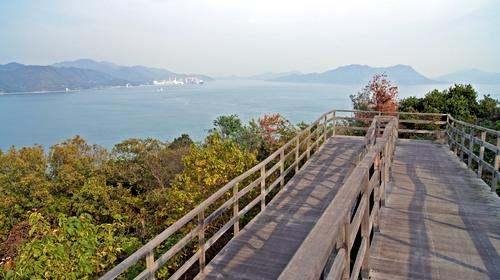 大久野島の展望台