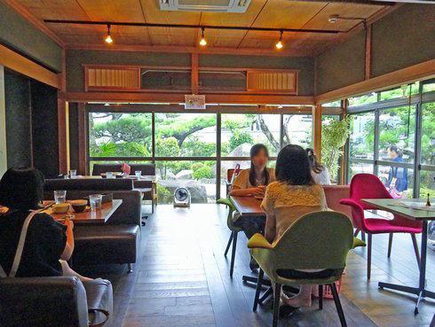 夕日カフェ 店内の様子2