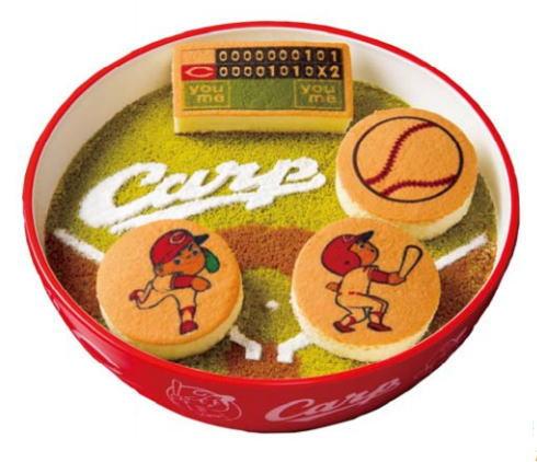 カープをすくえ!?ゆめタウンがカープクリスマスケーキ発売