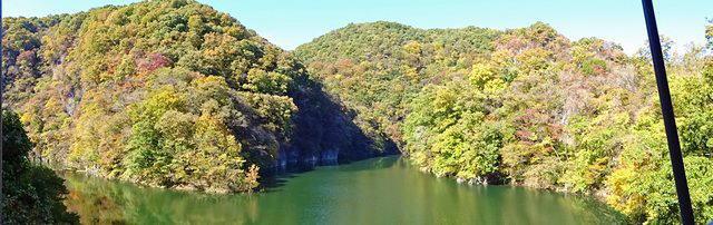 カフェ・ド・帝釈峡 から見る景色2