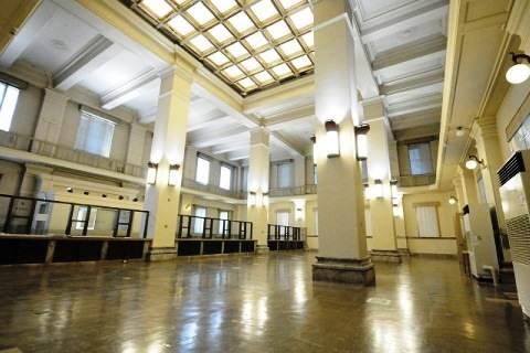 旧日本銀行広島支店の内部の様子