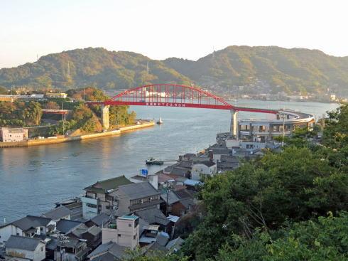 第三音戸大橋から見る音戸大橋