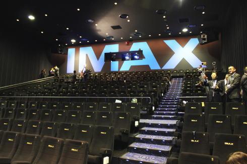 IMAX 福山エーガル8 座席の様子