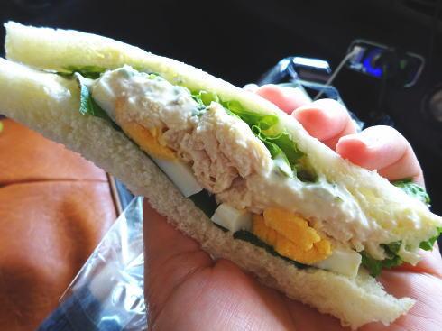 パン屋 じゅりあん サンドイッチ
