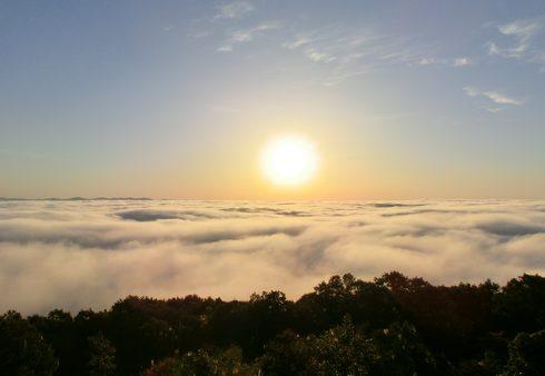 賞金100万円!挑戦者募る、三次市霧の海 写真コンテスト