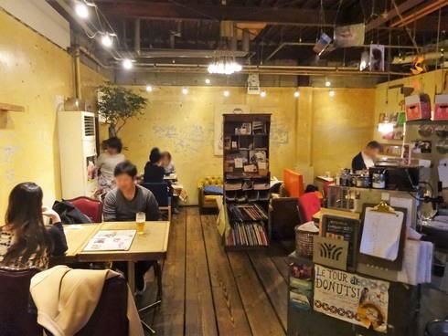 尾道 やまねこカフェ 店内の様子