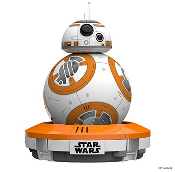 BB-8がスマートフォンで動かせるオモチャ登場