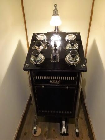 尾道 御調 まるみデパート 古いレントゲン機器
