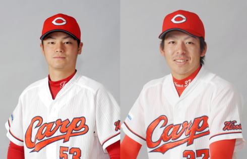 戸田選手・野間選手