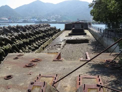 コンクリート船・武智丸の内部