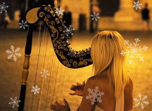 冬の星座とハープ演奏、三原天文台でクリスマス観望会
