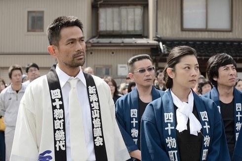 人生の約束、江口洋介と小池栄子が漁師役