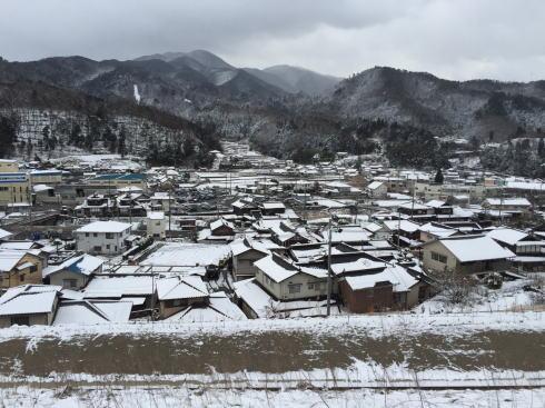 広島の雪景色 安佐北区の様子