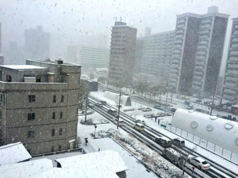 広島の冬景色 西区の風景