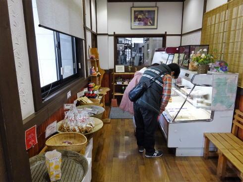 三次 佐々木豆腐店 物販スペース