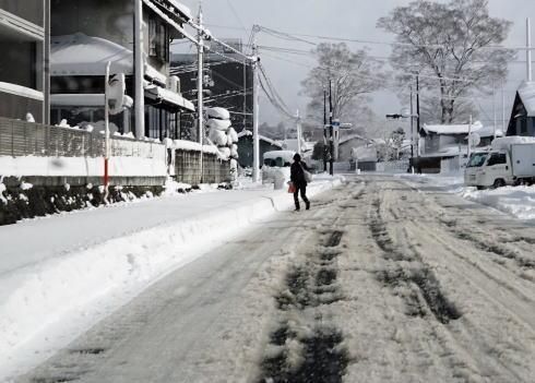 広島の冬景色 庄原市の風景4