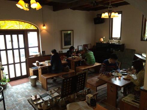 湯来 ジャズカフェ ラ・カスエラ 店内の様子4