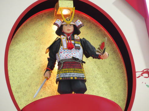 宮島桟橋のからくり時計、伝統舞踊と平清盛