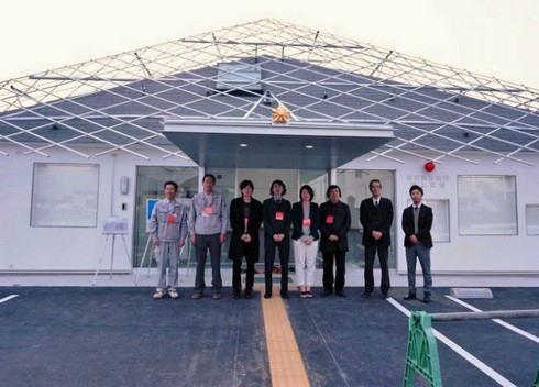 福山市 野上交番とデザインした学生たち