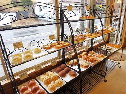 豊栄町のパン屋さん リュラル・ブーランジェ 店内の様子
