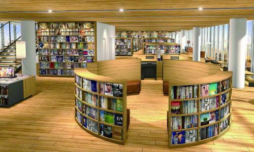 新徳山駅ビルは図書館・カフェ・本屋を融合した「新図書館」へ!