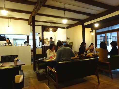 西条 古民家カフェ トレカサ 店内の様子