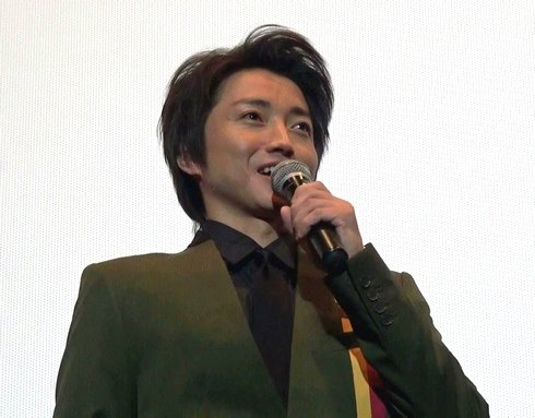 藤原竜也、広島で舞台挨拶「僕だけがいない街」