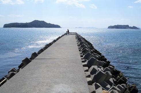 梶ヶ浜からの眺め