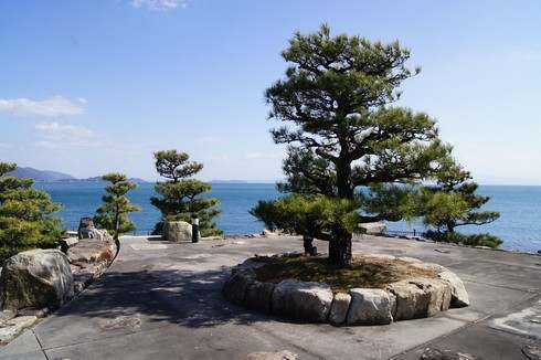 朝鮮通信使記念庭園の様子