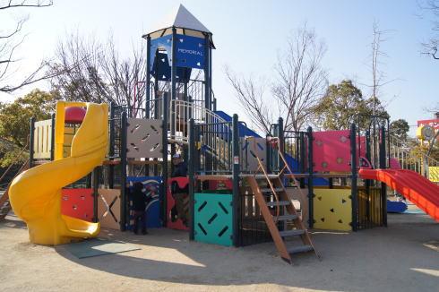 福山メモリアルパーク 遊具1