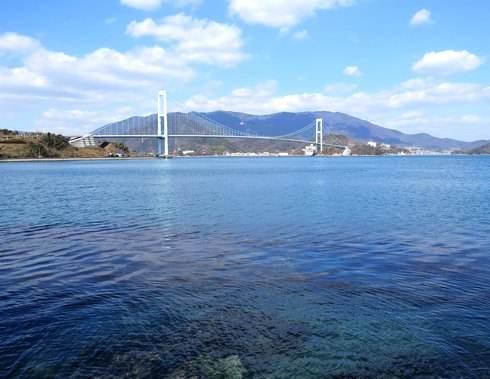 大津泊庭園、絶景ビューの散歩道が気持ちいい下蒲刈島の公園