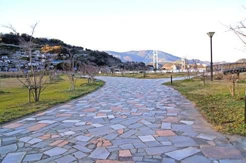 大津泊庭園の入り口