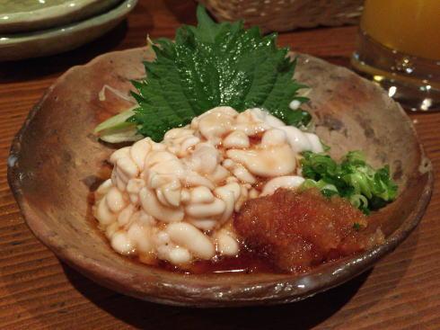 福山市 肴蔵(さかぐら) 白子ポン酢