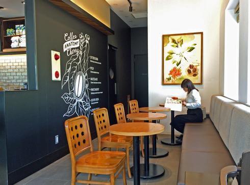 小谷SAのスターバックスコーヒー