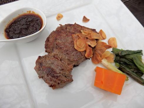 マホガニーステーキの画像