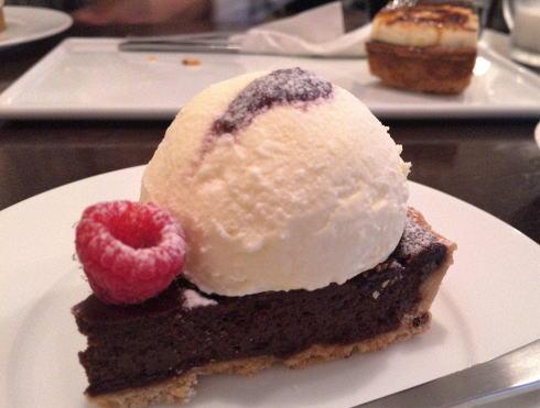 ムッシムパネン チョコタルトのマスカルポーネムース