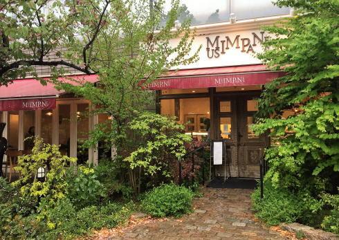 ムッシムパネン、川沿い・緑に溢れたケーキ屋さんで一人カフェも