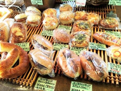 ペスカ 八木のパン屋さんのラインナップ