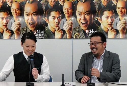 殿、利息でござる!広島で阿部サダヲと中村監督がPR